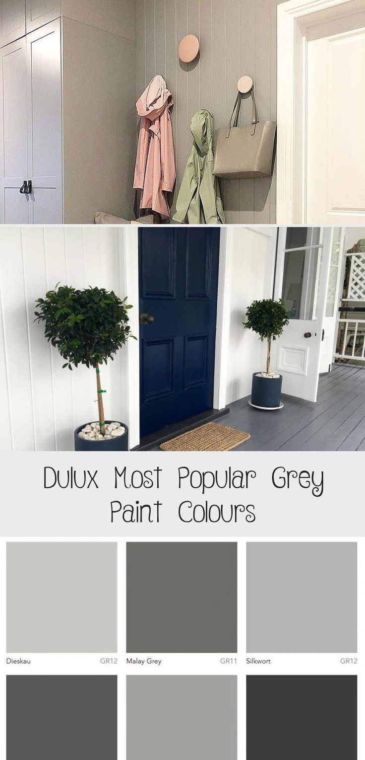Dulux Most Popular Grey Paint Colours in 2020 Popular