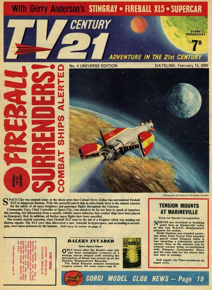 TV Century 21 issue number 4