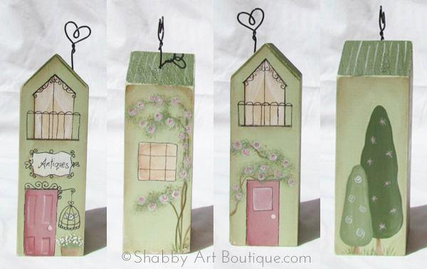 DIY–'shabbilicious' Village Shops [part 2] - Shabby Art Boutique