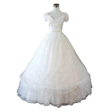 vestido de fiesta de halloween vestido victoriano vestido vestido de fiesta belleza sureña guerra civil steampunk®white 4357850 2016 – $96.895