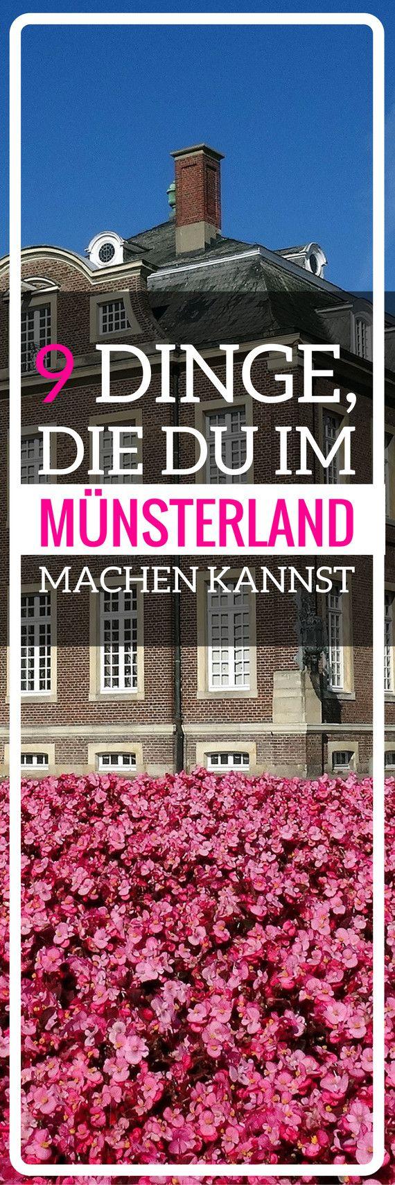 9 schöne Dinge, die du im Münsterland machen kannst