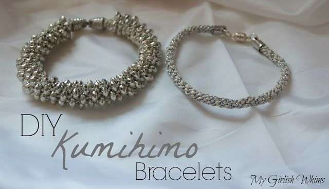 DIY Kumihimo Bracelets | My Girlish Whims