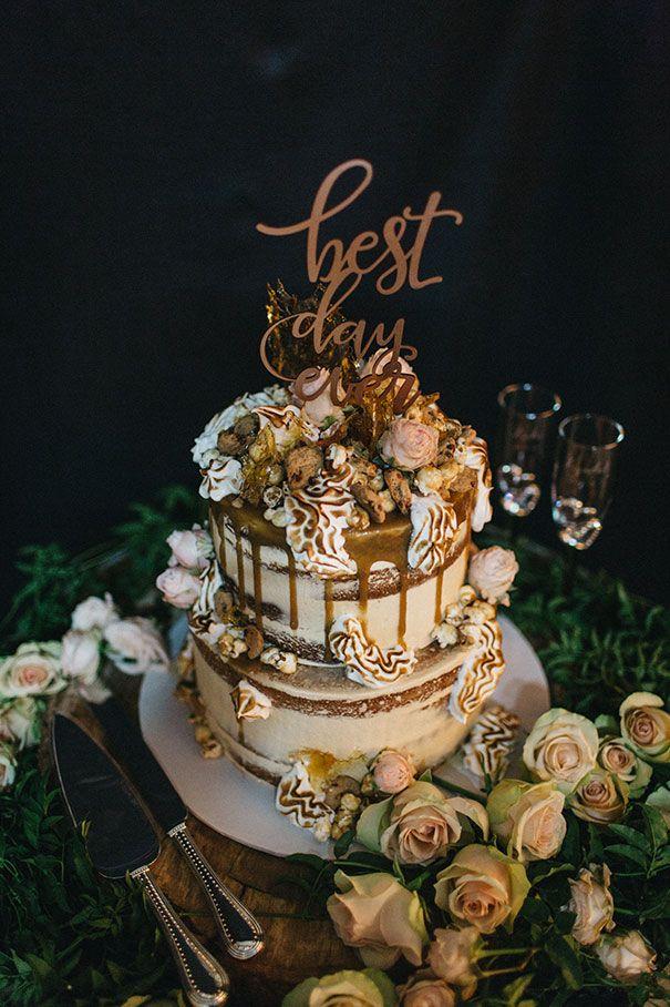LYNDAL + LUKE // #wedding #cake #dessert #reception #layer #tier #caketopper #bestdayever #carnival #topping #vintage