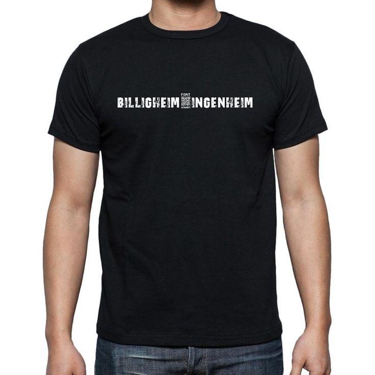 billigheim-ingenheim, Men's Short Sleeve Rounded Neck T-shirt