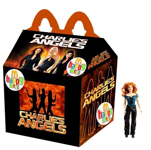 """Charlie's Angels"" Happy Meal"