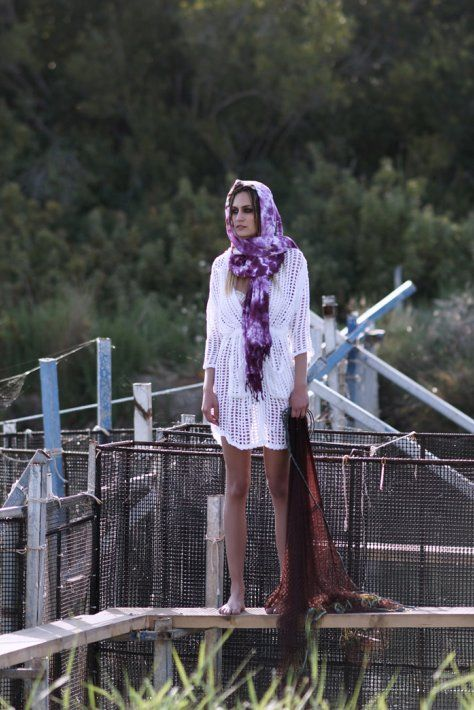 Samera - bloeur.gr cardigan caftan beachwear white crochet boho bleoru fashion woman beach