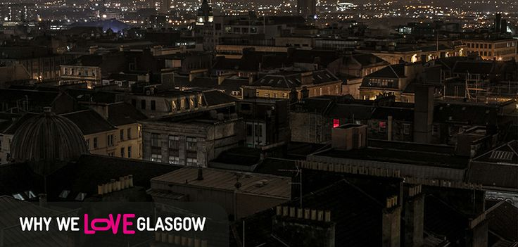 It's Why We <3 Glasgow and this time we're featuring a nighttime shot across the rooftops of Glasgow by our fan Robert Kaysen! Can you take a guess at where this was taken...?