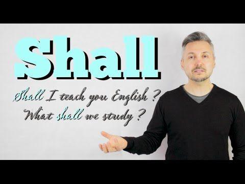 Модальные глаголы shall и should в английском языке  ‹  Грамматика ‹ engblog.ru