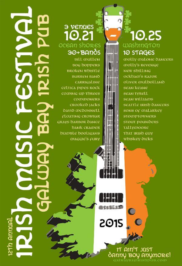 2015 Irish Music Festival — Galway Bay
