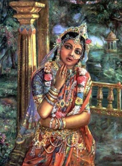 Rukmini, Krishna's Queen.
