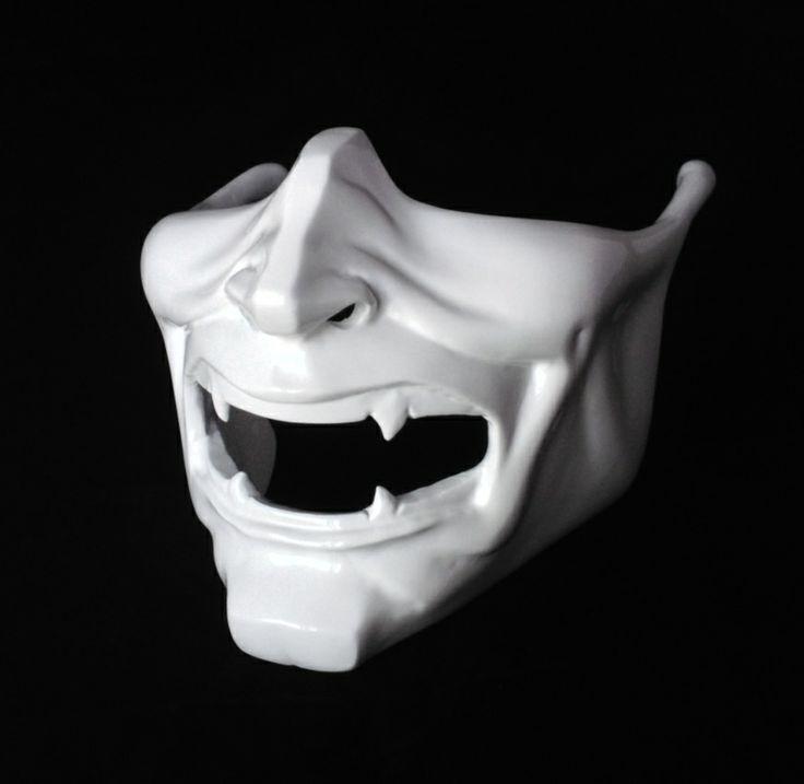 Japanese Samurai Warrior Mask