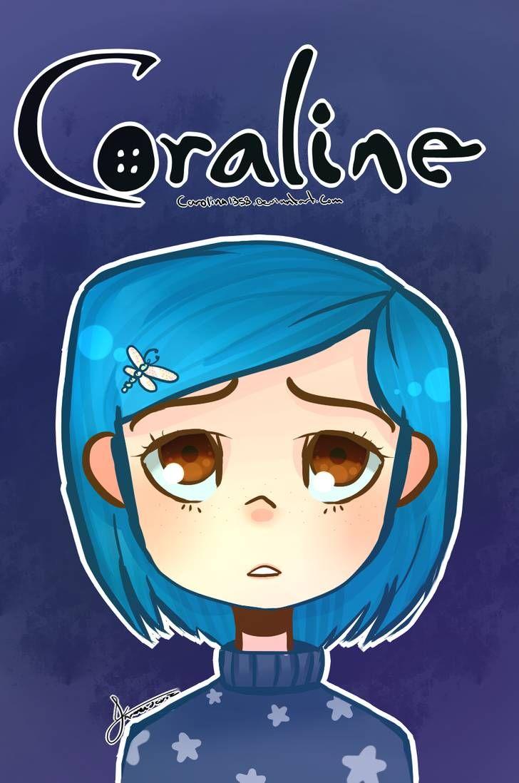 Coraline 2 By Carolina1358 Coraline Coraline Drawing Anime