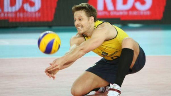 #8 Murilo brazil volleyball team