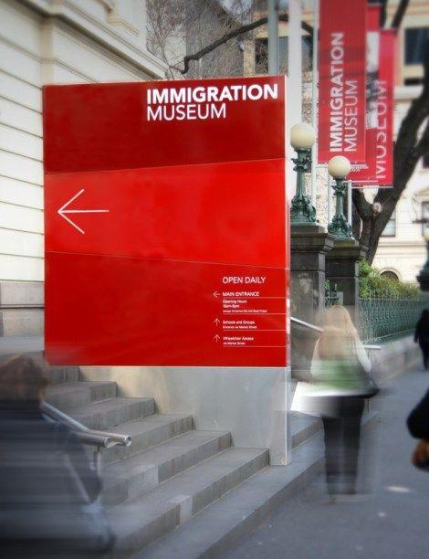 Sinalização Museu da Imigração   Núcleo de Design Gráfico Ambiental - NDGA