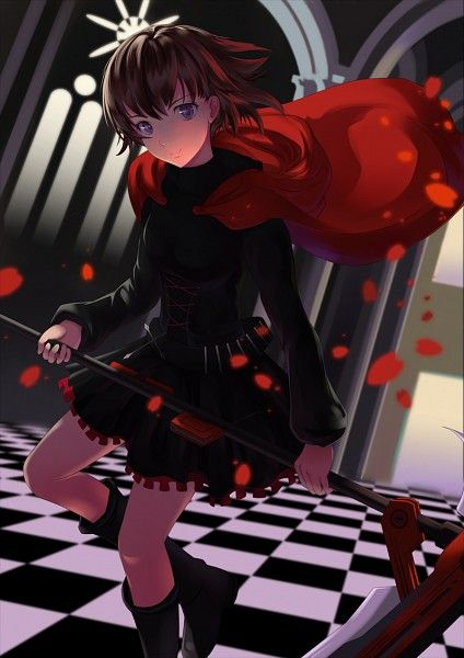 Tags: Scythe, Hooded Cape, Red Cape, RWBY, Ruby Rose, Red Outerwear