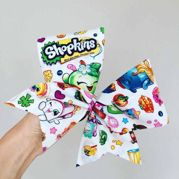 SHOPKINS cheer bow