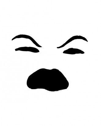 evil face pumpkin template - 1000 images about mod podge jol jars on pinterest