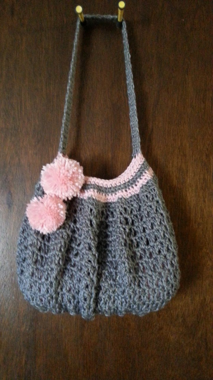 Easy #Crochet #handbag #purse #TUTORIAL Purse ideas. Lovely Purse. DIY h...