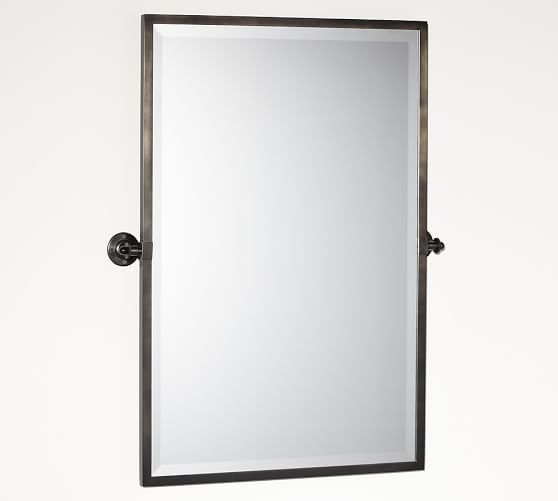 kensington pivot rectangular mirror bathroom ideas 16358