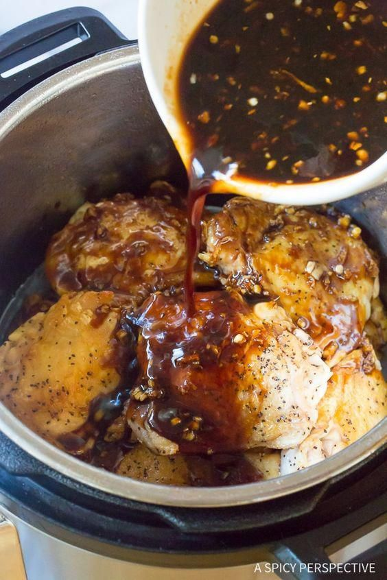 How To Make Instant Pot Sweet Soy Chicken Thighs Pressure Cooker Recipe