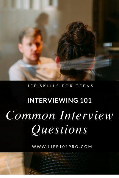 TOP 5 Interview Questions for Homeschool Teens Life 101 Pro - Life