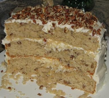 Hummingbird cake - My oldest sons favorite cake. Paula Deen has a great recipe. He asked me to bake his favorite cake for his 16th birthday this year. :)