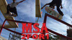 MSA 2 for 1 Bastien Salabanzi and Manny Santiago - http://DAILYSKATETUBE.COM/msa-2-for-1-bastien-salabanzi-and-manny-santiago/ - http://www.youtube.com/watch?v=dmjaOz4xodc&feature=youtube_gdata  This week's 2 for 1 features Bastien Salabanzi and Manny Santiago filmed at 120fps at the Pacoima Skatepark in California. Filmed and Edited by: Arnaldo Rosa... - bastien, manny, salabanzi, santiago