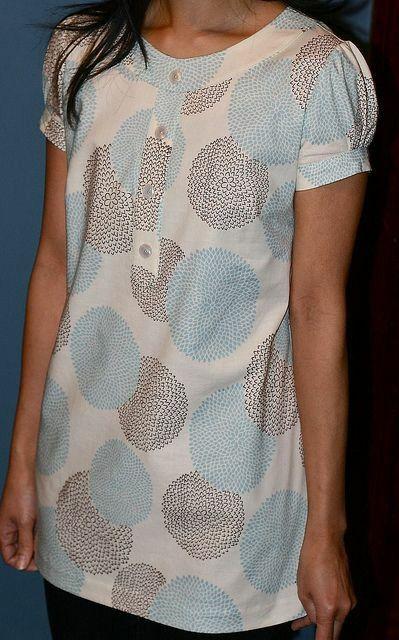Blusa Estilo bata para mujeres embarazadas
