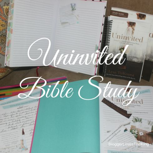 Uninvited Living Loved When You Feel Less Than, Left Out, and Lonely by Lysa Terkeurst We all experience rejections, insecurities and fears. When I first read the title, as always with these studie…