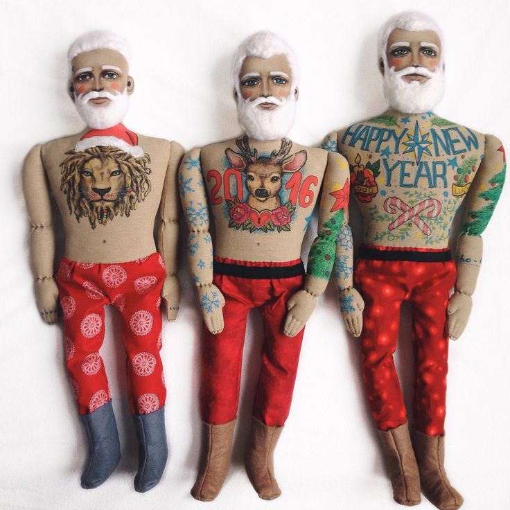 Don't miss a big Christmas Sale in my shop - 20-25% Hurry up to get a cool Santa doll Ho-ho-ho