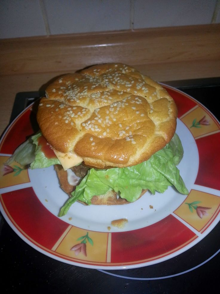 Selber-Macherin: Low carb Hamburger selbstgemacht