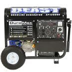 12000-Watt 18HP Gasoline Powered Portable Electric Start Generator with Wheel Kit Carb Approved