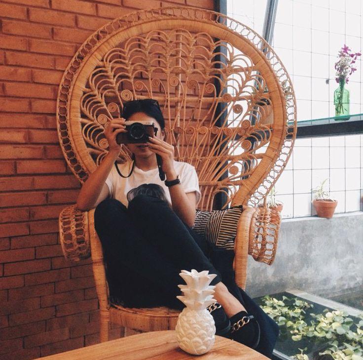Triple Triangle Pillow at Babo Cafe, Yogyakarta