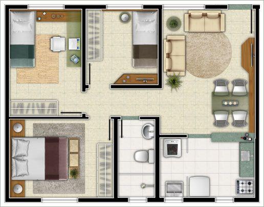 planos de casas pequenas americanas