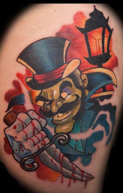 Marty McEwen - Black 13 Tattoo by Black 13 Tattoo, snidely whiplash