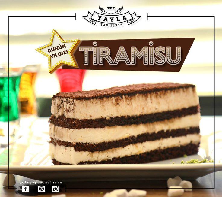 Günün yıldızı, gerçek bir İtalyan, Tiramisu 😍 #kakao #kahve #tatlı #günün #yıldızı #tiramisu  İletişim / Rezervasyon : (0362) 437 32 32
