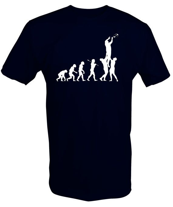 Evolution of Rugby T Shirt Tee Top Funny Retro Scotland Wales England British Lions on Etsy, $17.40 AUD