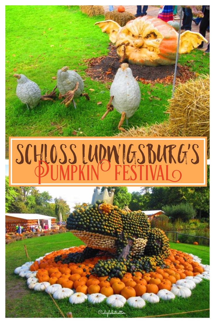 Head To Schloss Ludwigsburg For Their Yearly Pumpkin Festival
