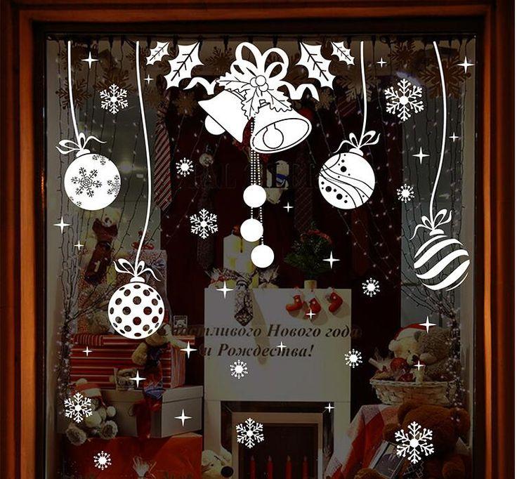 Image result for christmas window deco flex