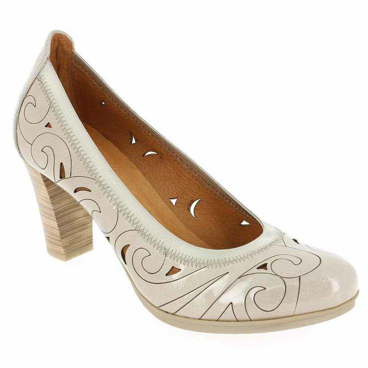 Chaussure Hispanitas 49733 AGATHA Beige pour Femme   JEF Chaussures