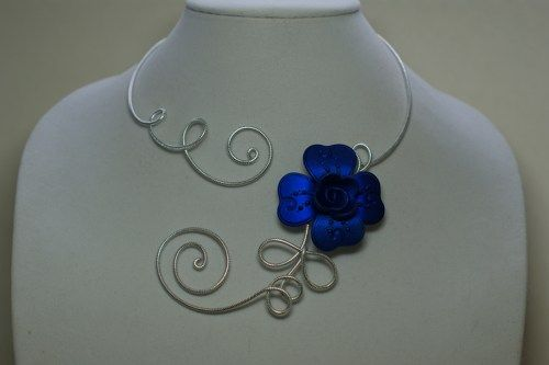 Wedding jewelry, Prom jewelry, Royal blue necklace  | LesBijouxLibellule - Jewelry on ArtFire