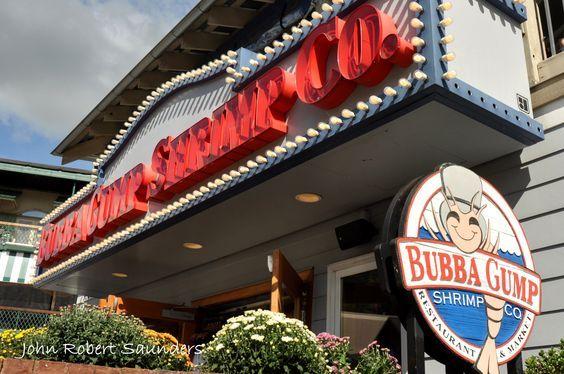 Bubba Gump Shrimp Co. in Gatlinburg. Delicious seafood restaurant!