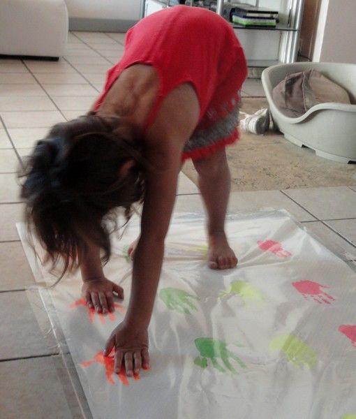 notre jeu Twister maison !!                                                                                                                                                                                 Plus