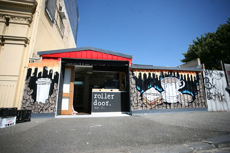 Roller Door Cafe, West Melbourne