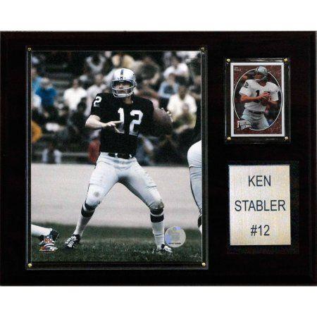 C Collectables NFL 12x15 Ken Stabler Oakland Raiders Player Plaque