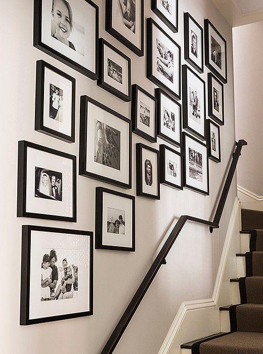 best 25+ stairway wall decorating ideas on pinterest | stair decor