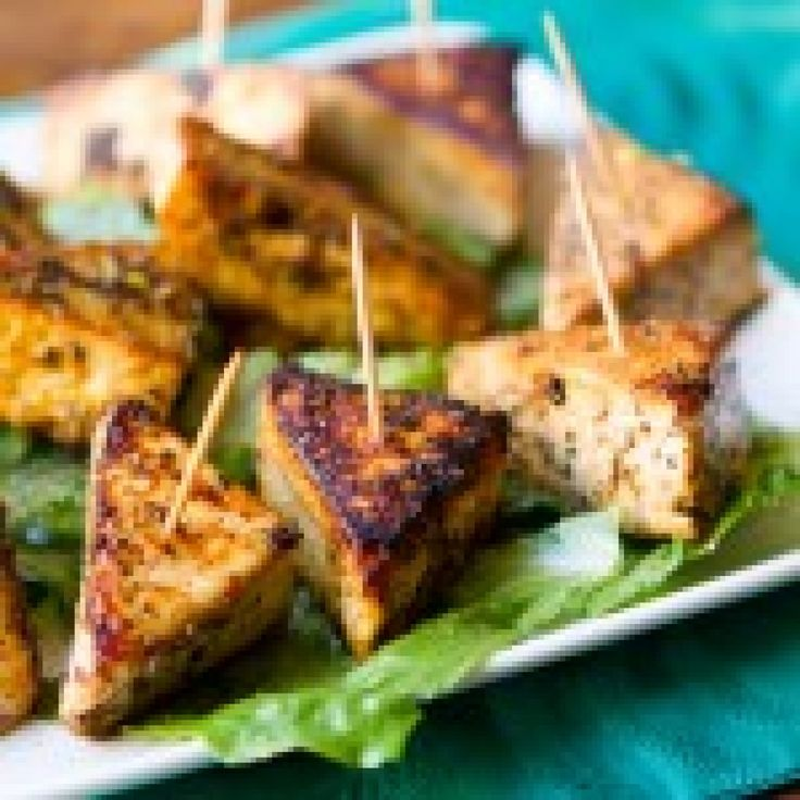 Salt and Pepper Tofu Triangles