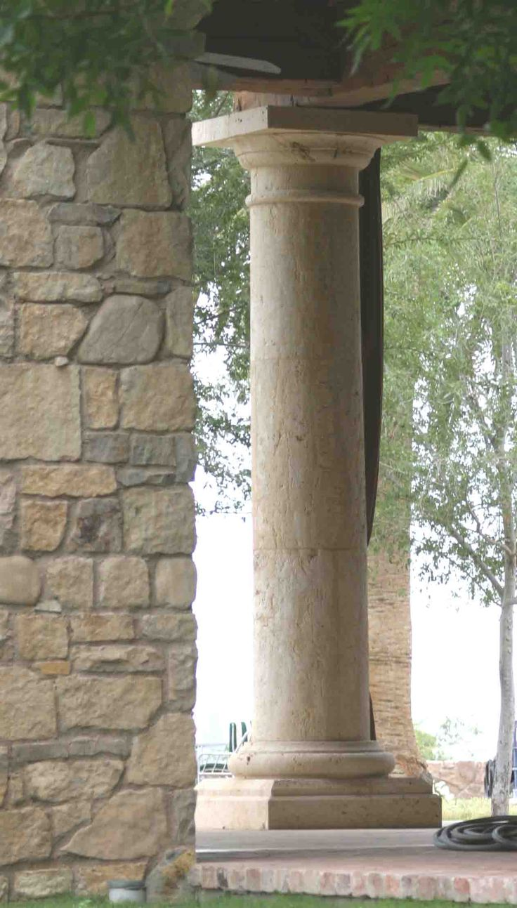 Stone Columns Design : Best images about columns balustrades on pinterest