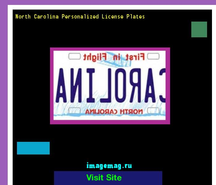 North carolina personalized license plates 140403 - The Best Image Search