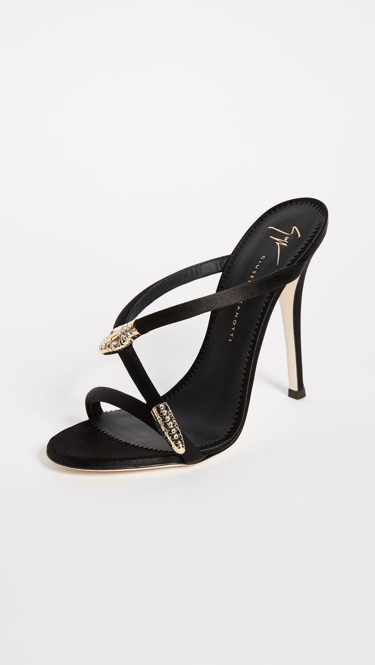 Giuseppe Zanotti Heeled Mule Sandals | SHOPBOP